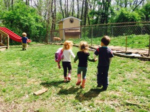good friends and sunshine and outdoor education