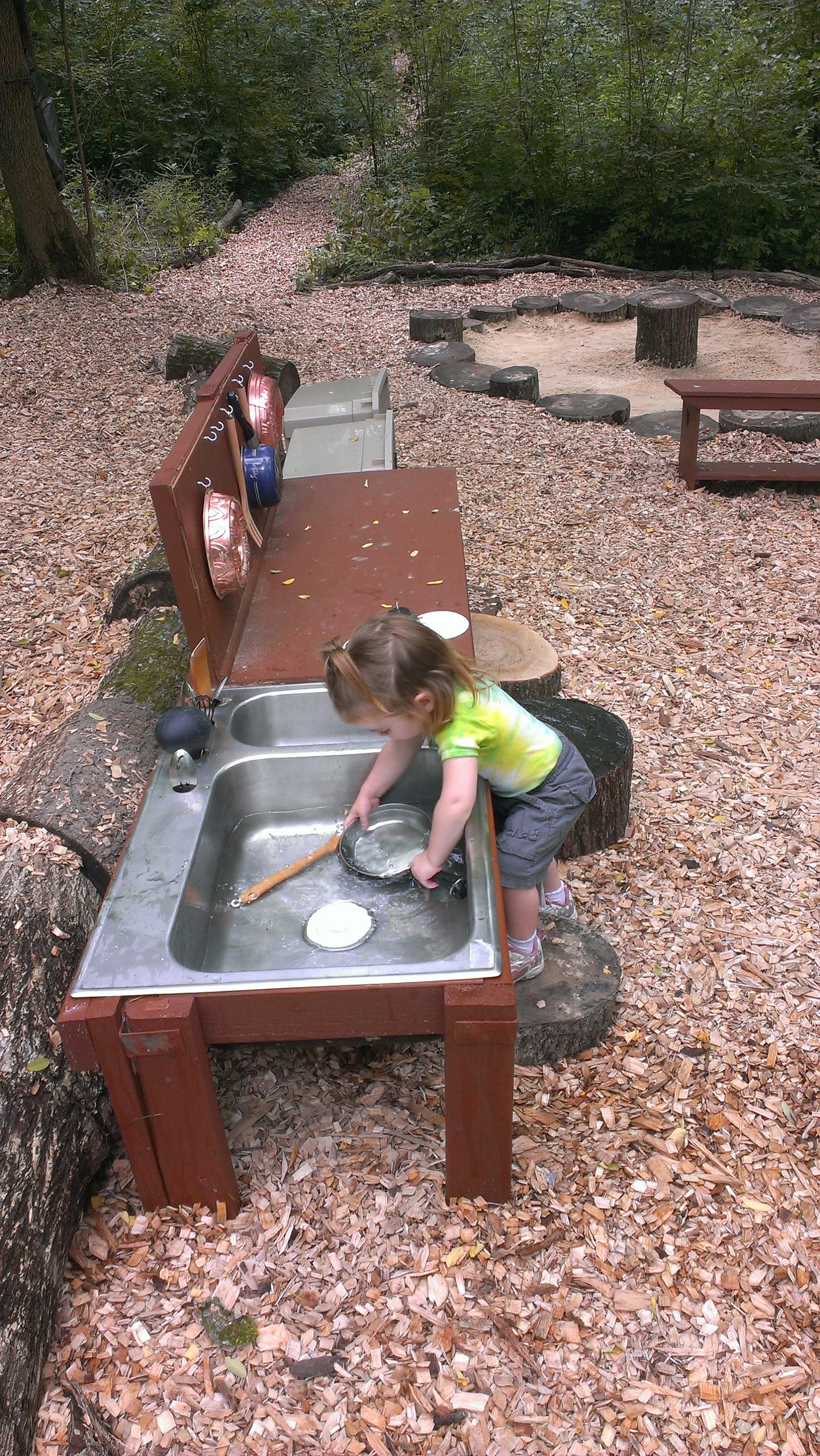 Outdoor Natural Play Scapes